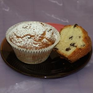 Кекс «Изюминка», обсыпанный сахарной пудрой