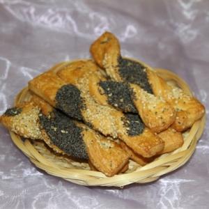 Печенье сдобное слоеное «Гармошка»